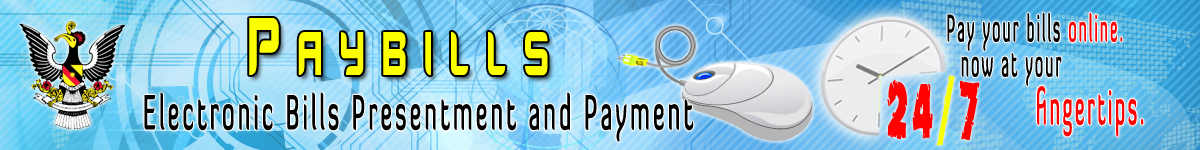 Paybills Electronic Bills Presentment and Payment.Pay your bills 24 by 7 online.Now at your fingertips.